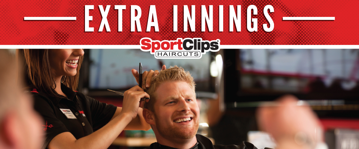 The Sport Clips Haircuts of Hermitage Crossing  Extra Innings Offerings