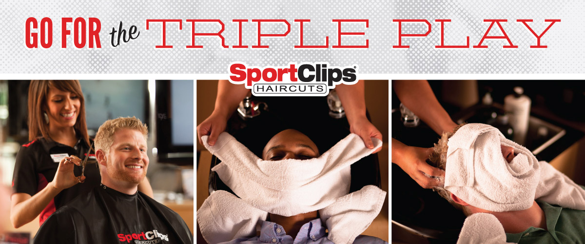 The Sport Clips Haircuts of Hermitage Crossing  Triple Play